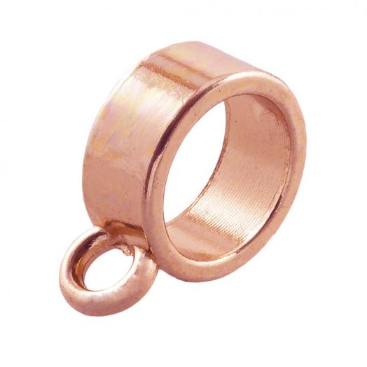 Connector (hole size 8 mm) Rose Gold (10 pcs)