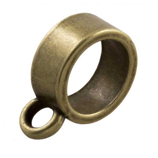 Connector (hole size 9 mm) Bronze (10 pcs)