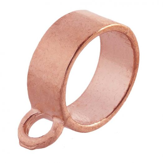 Connector (hole size 10 mm) Rose Gold (10 pcs)