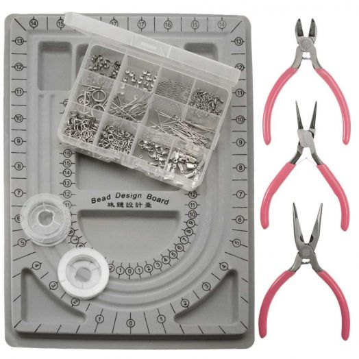 Starter Kits Jewelry Making (Stainless Steel) Silver