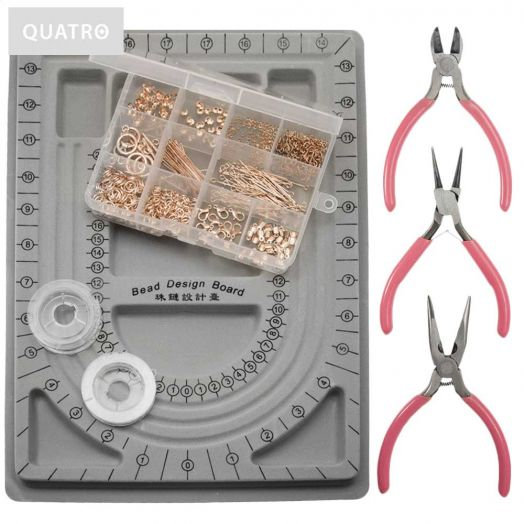 Starter Kit Jewelry Making - Rose gold