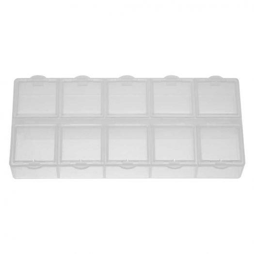 Storage box 10 compartments