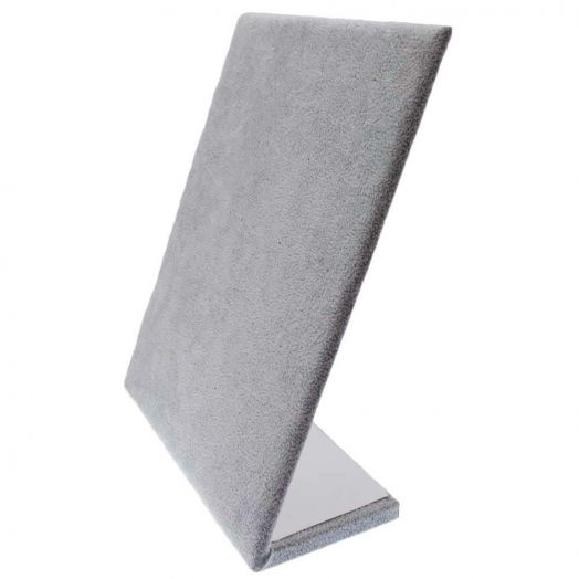 Jewelry Display (20 x 25 cm) Velvet Grey (1 pcs)