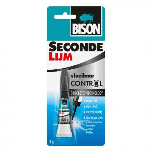 Secondelijm control (Bison) 3 gr