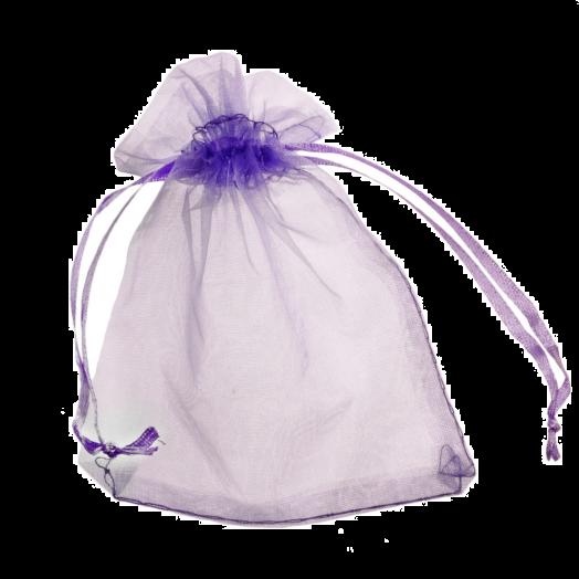 Organza Bags (7 x 9 cm) Purple (25 pcs)