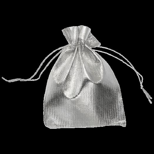Metallic Bags (13 x 18 cm) Silver (20 pcs)