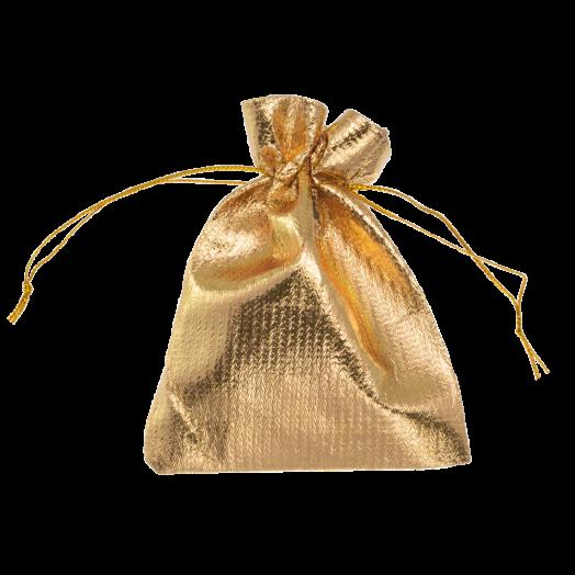 Metallic Bags (7 x 9 cm) Gold (20 pcs)