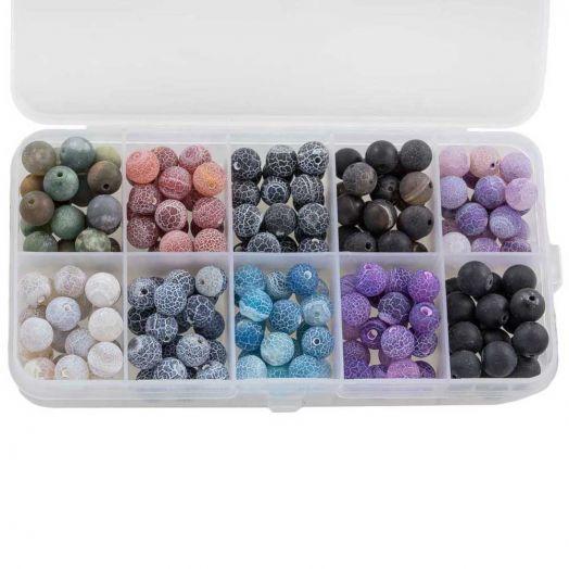 Advantage Package - Efflorescence Beads (8 mm) Mix Color (10 x 14 pcs)