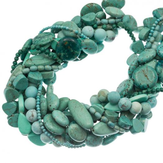 Advantage Package - Beads (9 Strands)  'Turquoise Mix'