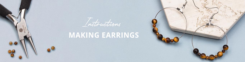 Making earrings | Dreambeads Online
